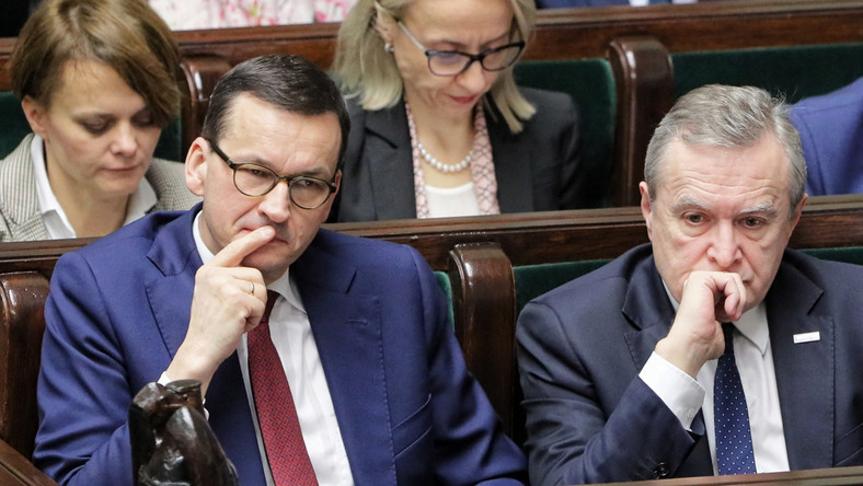Debata nad wnioskiem PO o konstruktywne wotum nieufności dla rządu Mateusza Morawieckiego.