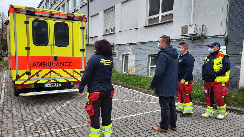 Pomoc dla słubickiego szpitala płynie z pobliskiego Frankfurtu nad Odrą