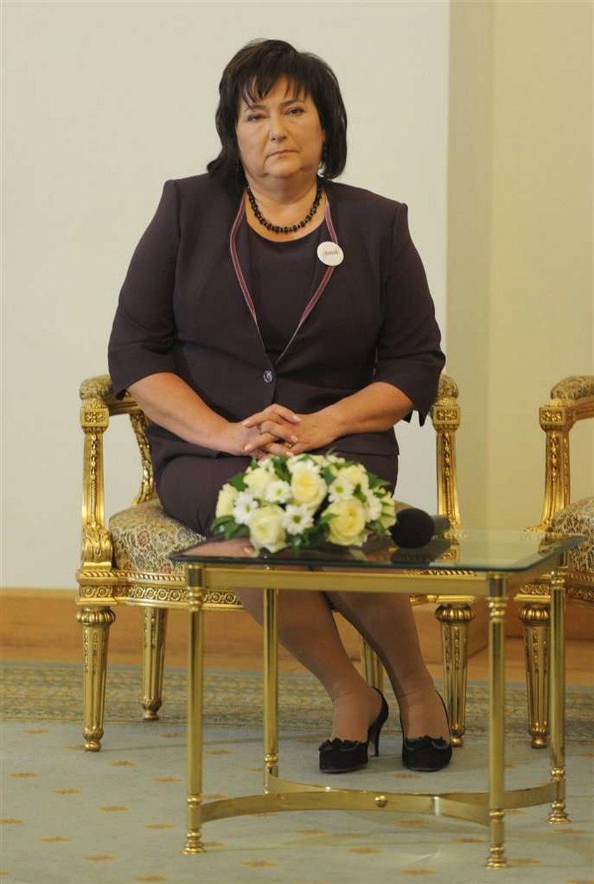 Anna Komorowska, żona prezydenta