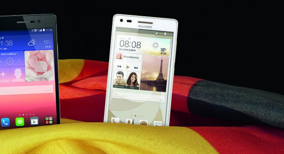 Ascend P7 & P7 Mini: Huawei läutet Deutschland-Start ein