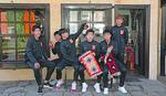 Kineski fudbaleri oduševljeni Pirotom, a evo šta su sve poneli sa sobom