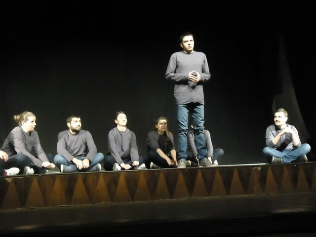 "Amar Ćorović, nagrađeni glumac iz predstave ""Beton mahala"""