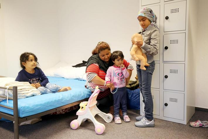 GERMANY MIGRATION REFUGEES CRISIS