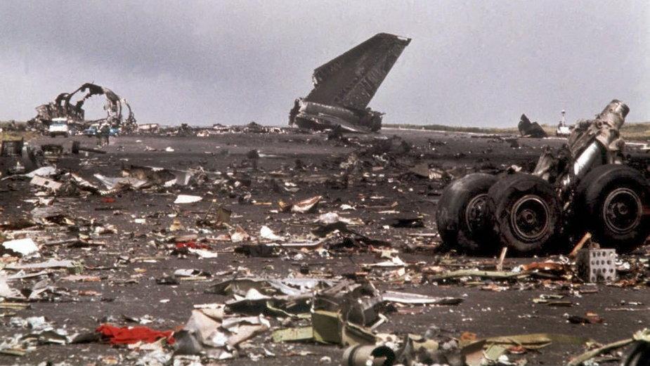 Miejsce katastrofy w Los Rodeos w 1977 r.