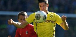 Robert Lewandowski strzela kolejne gole dla Borussi