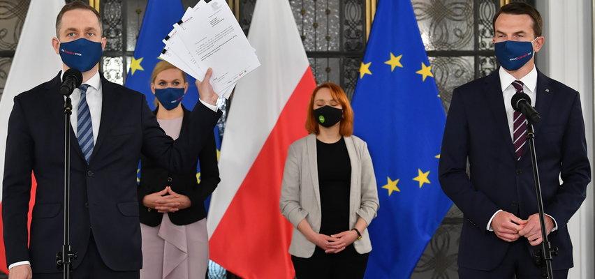 KO chce odwołać Sasina, Dworczyka i Kamińskiego