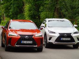 Lexus UX czy Lexus NX – który pasuje do Ciebie lepiej?
