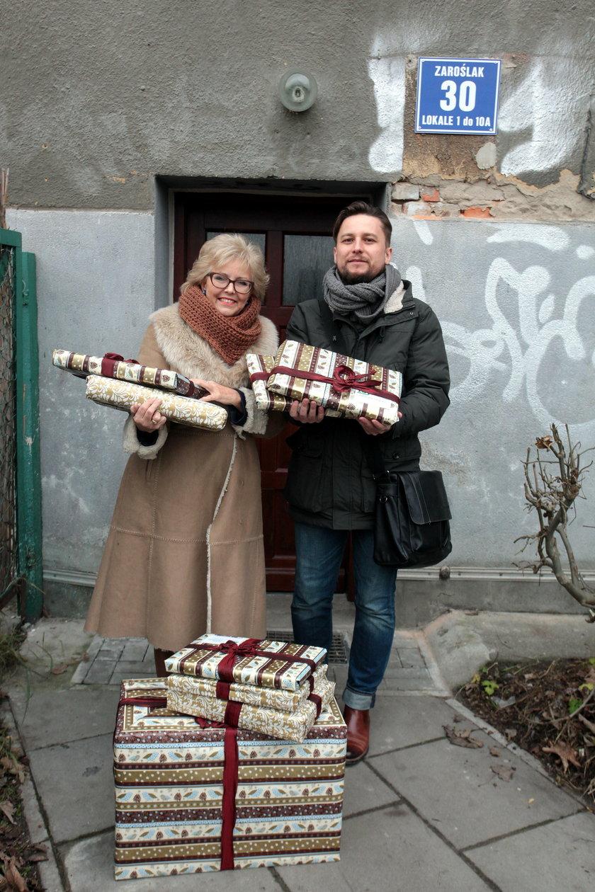 Świąteczne prezenty dla potrzebujących z Gdańska przygotowali pracownicy Zakładu Ubezpieczeń Społecznych oddział w Gdańsku