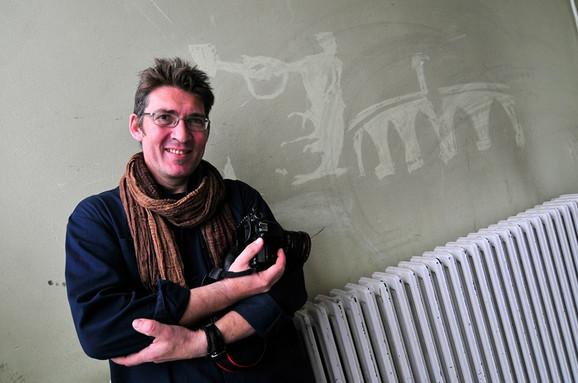 Slobodan Sušnjević autor izložbe