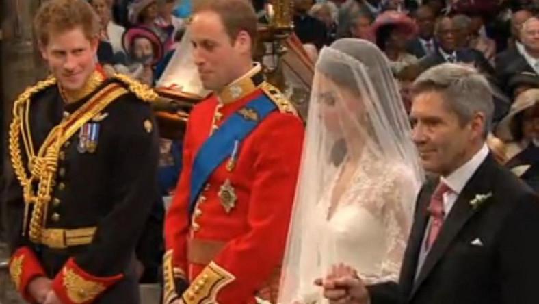 Kate w dniu ślubu