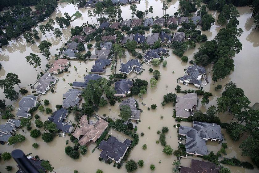 Huragan w Teksasie