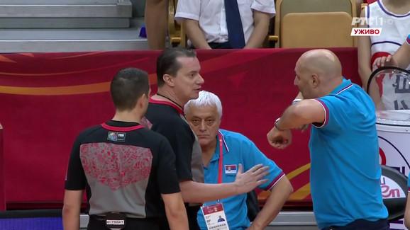 Aleksandar Đorđević je imao šta da kaže sudijama