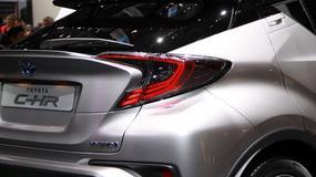 Toyota C-HR - rywal Juke'a i CX-3 już jest! (Genewa 2016)