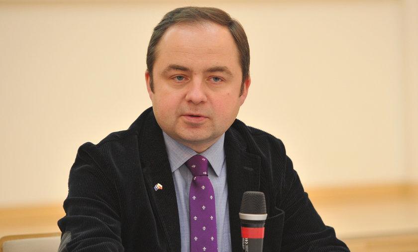 Konrad Szymański, przyszły minister ds. europejskich w rządzie Beaty Szydło