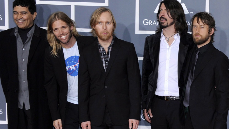 Dave Grohl i Foo Fighters na gali Grammy