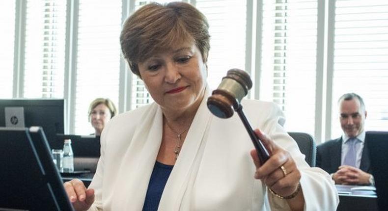 Kristalina Georgieva est DG du FMI depuis le 1er octobre 2019