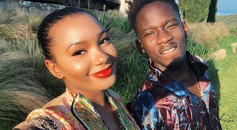Mr Eazi celebrates girlfriend Temi Otedola on her birthday with cute message
