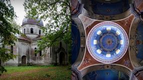 Opuszczona cerkiew grekokatolicka Opieki Matki Bożej w Starych Oleszycach
