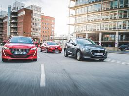 Peugeot 208, Renault Clio czy Mazda 2 - które miejskie auto wybrać?