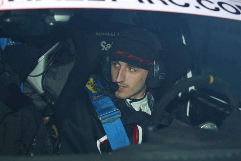 Robert Kubica wycofał się z Rajdu Monte Carlo