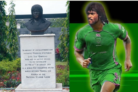 Samuel Okwaraj who died while playing for Nigeria will forever be  imortalised in the history books  (Nairaland)
