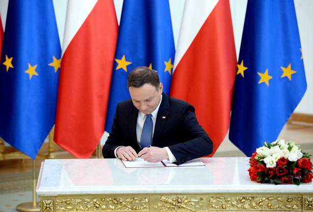 Prezydent Andrzej Duda postanowienie podpisał w środę.
