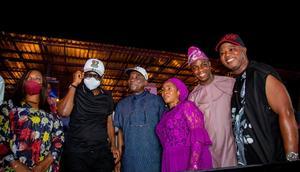 Babajide Sanwo-Olu and wife attended Eko on Show