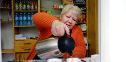 Kioskarka zaprasza na rozgrzewającą herbatę