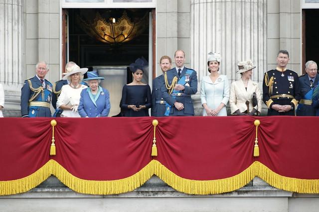 Britanska kraljevska porodica u julu 2018.
