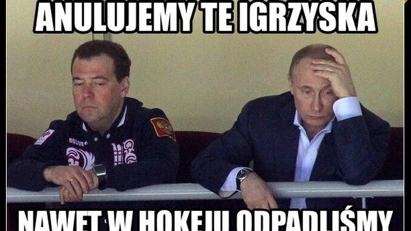 Internauci śmieją się z Putina