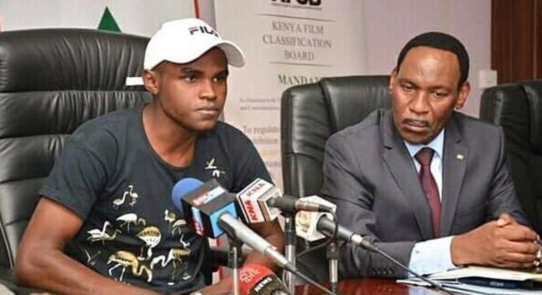 Takataka hitmaker Alvindo meets Ezekiel Mutua