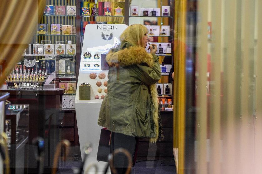 Maryla Rodowicz na zakupach