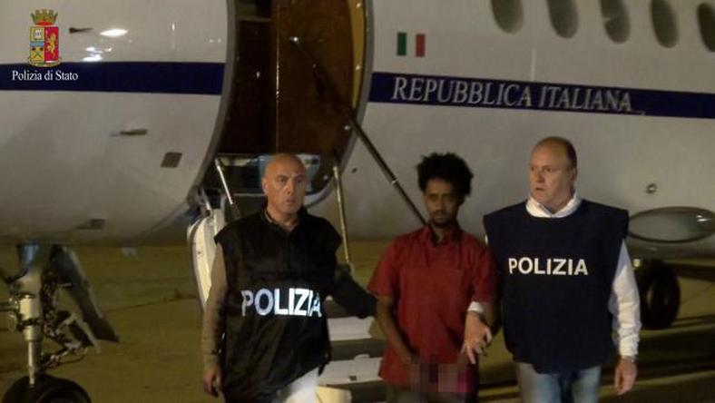 Suspected human trafficking kingpin extradited from Sudan to Italy