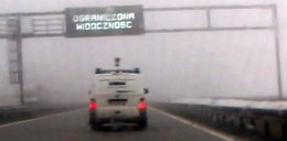 Inspektorzy od fotoradarów jechali 150 km/h we mgle!