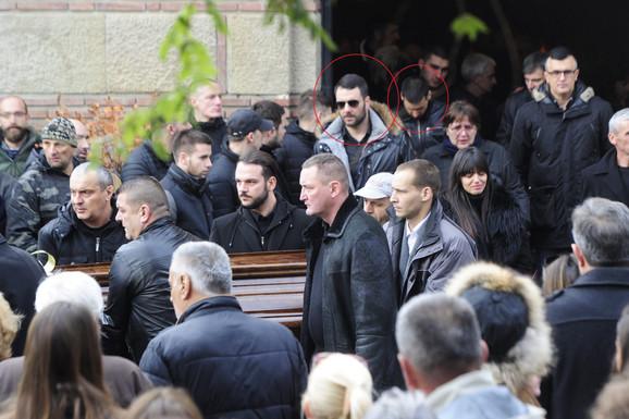 Kostić i Nilović na sahrani Vlade Popa