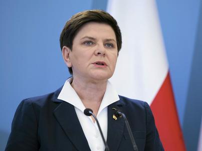 Premier Beata Szydło dokonuje przeglądu podlegających jej resortów