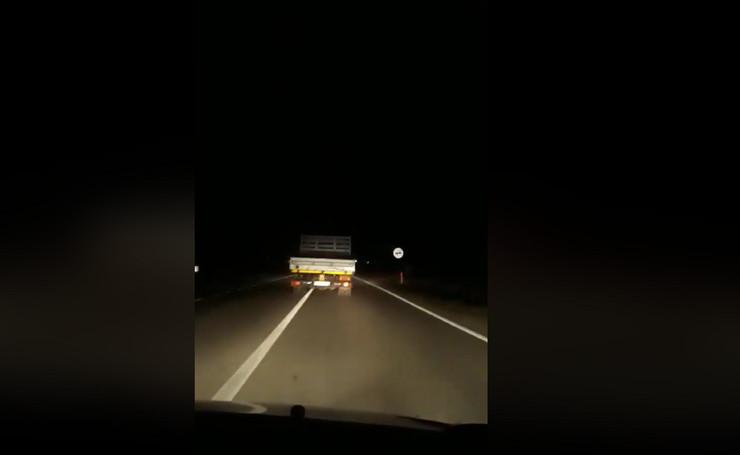 kamion, bahata vožnja, Vlasotince