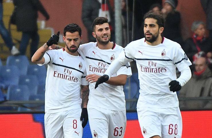 FK Đenova, FK Milan