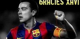 Koniec ery w Barcelonie. Xavi po 17 latach odchodzi z klubu. MEMY