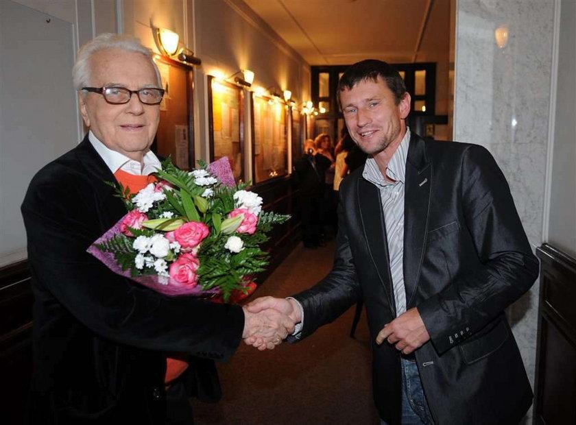 Andrzej Łapicki. Urodziny na scenie. Wideo