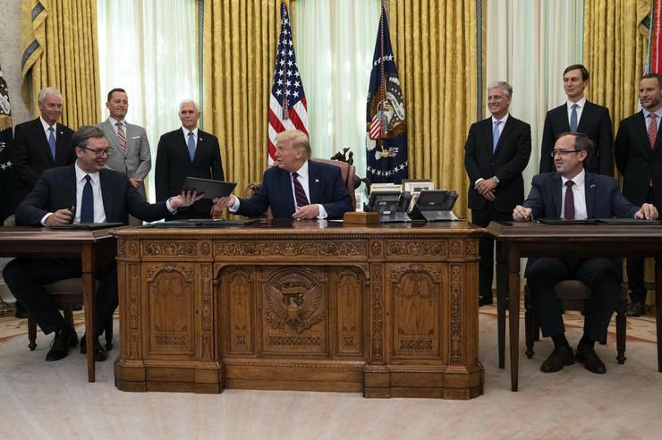 Vašington, Bela kuća, Vašingtonski sporazum