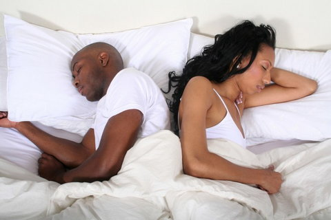 They withhold sex so the other partner can be manipulated into doing their bidding. [Credit - Shutterstock]