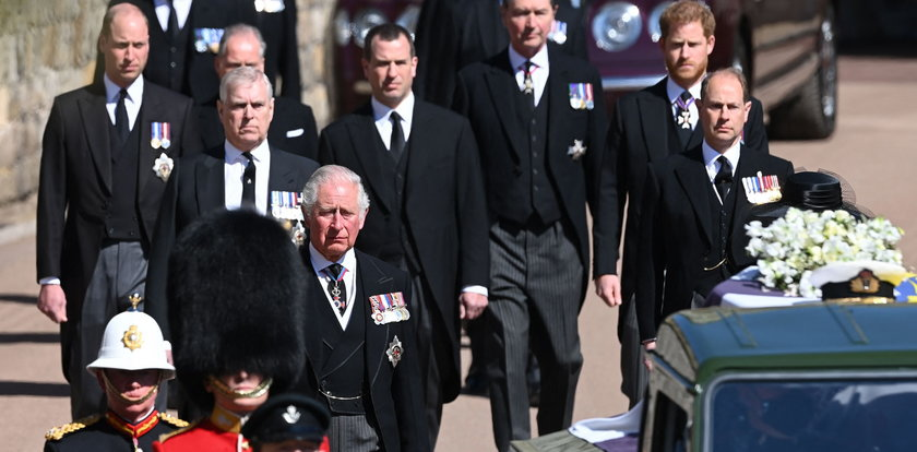 Pogrzeb księcia Filipa. Wielka Brytania pożegnała męża królowej