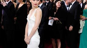 Rooney Mara w przezroczystościach Givenchy