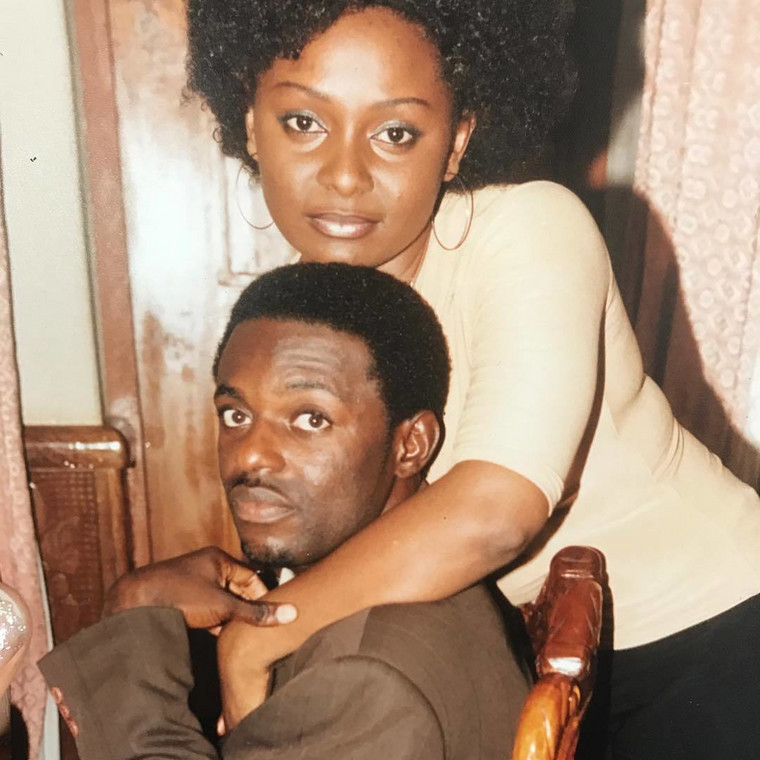 """Victoria Inyama and Jim Iyke in """"Love from Above"""""""