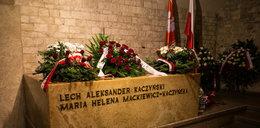 Zobacz wnętrza sarkofagu, z którego ekshumowano parę prezydencką