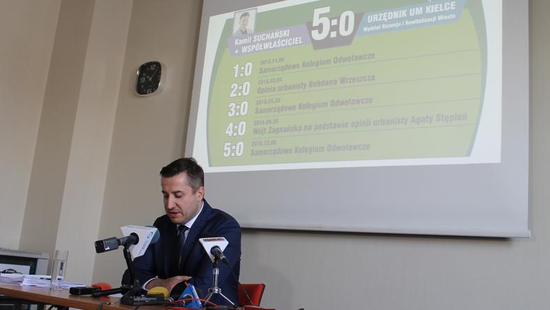 Kamila Suchański podczas konferencji
