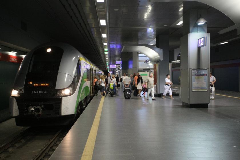 Utrudnienia w tunelu na lotnisko