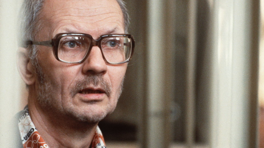 Andriej Czikatiło podczas swojego procesu w 1992 roku