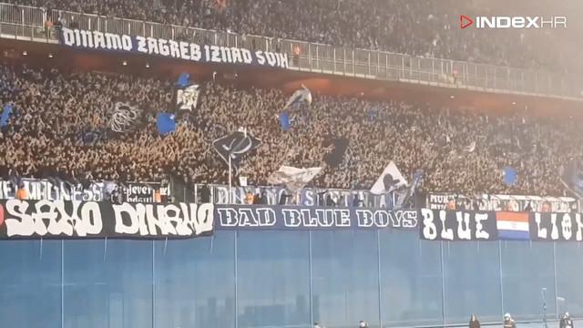 Navijači Dinama na stadionu Maksimir